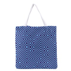 Blue maze Grocery Tote Bag