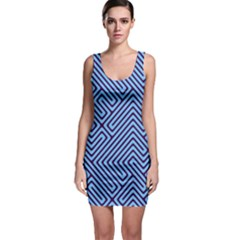 Blue Maze Bodycon Dress