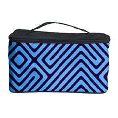 Blue maze Cosmetic Storage Case