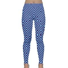 Blue Maze Yoga Leggings