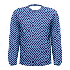 Blue maze Men Long Sleeve T-shirt