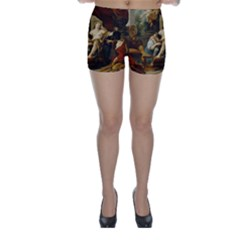 Garzi Hercules And Omphale Skinny Shorts
