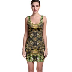 Tribal Jungle Print Bodycon Dress
