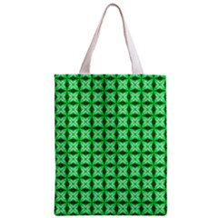 Green Abstract Tile Pattern Classic Tote Bag