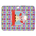 Cupcake with Cute Pig Chef Samsung Galaxy Tab 3 (10.1 ) P5200 Hardshell Case  View1