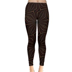 Tribal Geometric Vintage Pattern  Leggings