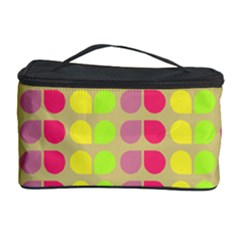 Colorful Leaf Pattern Cosmetic Storage Case
