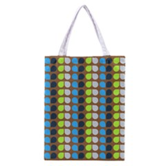 Colorful Leaf Pattern Classic Tote Bag
