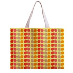 Colorful Leaf Pattern Tiny Tote Bag