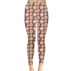 Cute Floral Pattern Leggings