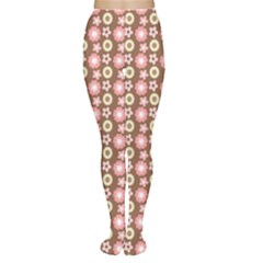 Cute Floral Pattern Tights