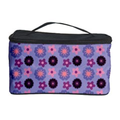 Cute Floral Pattern Cosmetic Storage Case