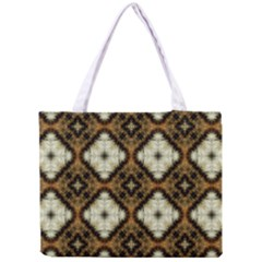 Faux Animal Print Pattern Tiny Tote Bag