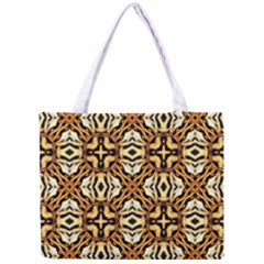 Faux Animal Print Pattern Tiny Tote Bag