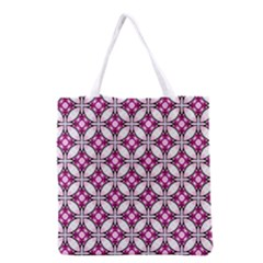 Cute Pretty Elegant Pattern Grocery Tote Bag