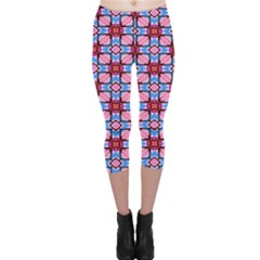 Cute Pretty Elegant Pattern Capri Leggings