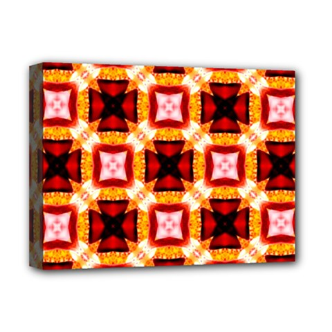 Cute Pretty Elegant Pattern Deluxe Canvas 16  X 12  (framed)