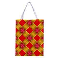 Cute Pretty Elegant Pattern Classic Tote Bag