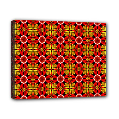 Cute Pretty Elegant Pattern Canvas 10  X 8  (framed)