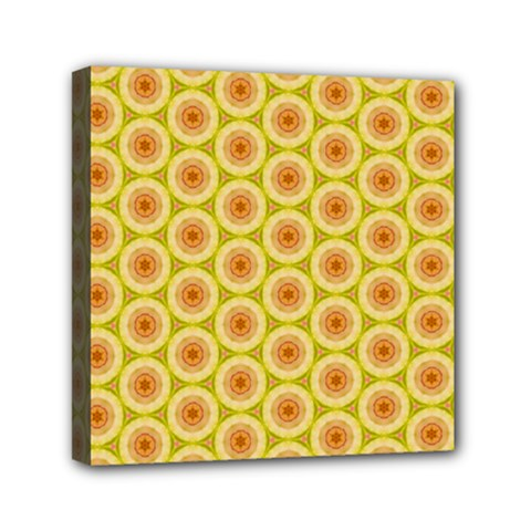 Cute Pretty Elegant Pattern Mini Canvas 6  X 6  (framed)