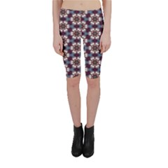 Cute Pretty Elegant Pattern Cropped Leggings