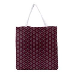 Cute Pretty Elegant Pattern Grocery Tote Bag