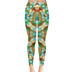 Colorful Modern Pattern Collage Leggings