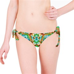 Colorful Modern Pattern Collage Bikini Bottom