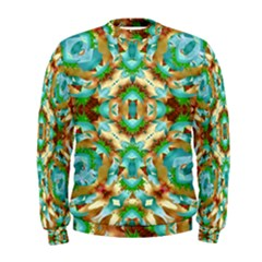 Colorful Modern Pattern Collage Men s Sweatshirt