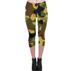 Camo Pattern  Capri Leggings