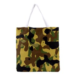 Camo Pattern  Grocery Tote Bag