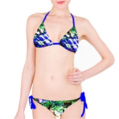Officially Sexy Blue Floating Hearts Collection Bikini