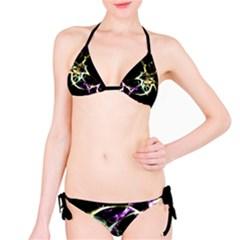 Futuristic Galaxy Dance  Bikini