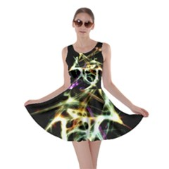 Futuristic Galaxy Dance  Skater Dress