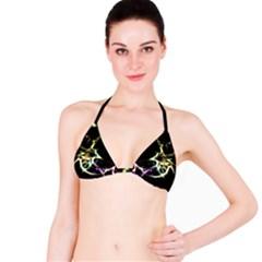 Futuristic Galaxy Dance  Bikini Top