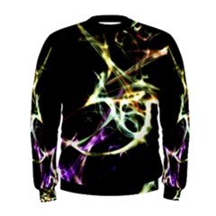 Futuristic Galaxy Dance  Men s Sweatshirt