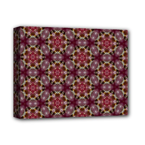 Cute Pretty Elegant Pattern Deluxe Canvas 14  X 11  (framed)