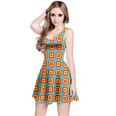 Cute Pretty Elegant Pattern Sleeveless Dress