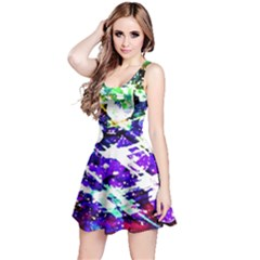 Officially Sexy Purple Floating Hearts Collection Sleeveless Dress