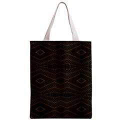 Futuristic Geometric Design Classic Tote Bag