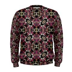 Floral Arabesque Print Men s Sweatshirt
