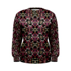 Floral Arabesque Print Women s Sweatshirt
