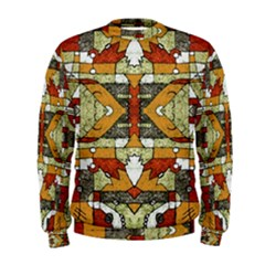 Multicolored Tribal Print Men s Sweatshirt