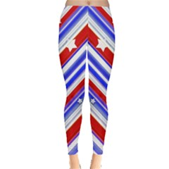 Usa Pattern Print Leggings