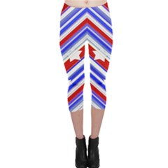 Usa Pattern Print Capri Leggings