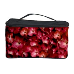 Warm Floral Collage Print Cosmetic Storage Case
