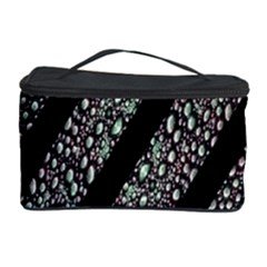 Organic Texture Stripe Pattern Cosmetic Storage Case