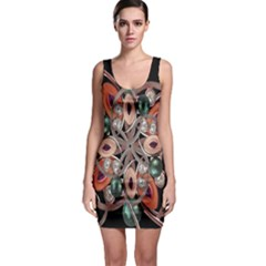 Luxury Baroque  Bodycon Dress