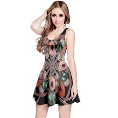 Luxury Baroque  Sleeveless Dress