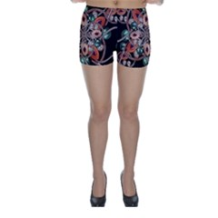 Luxury Baroque  Skinny Shorts